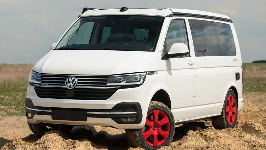 Lifted VW Transporter Is Ready For An Off-Road Adventure