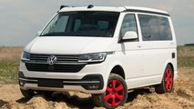 vw transporter lifted suspension tune