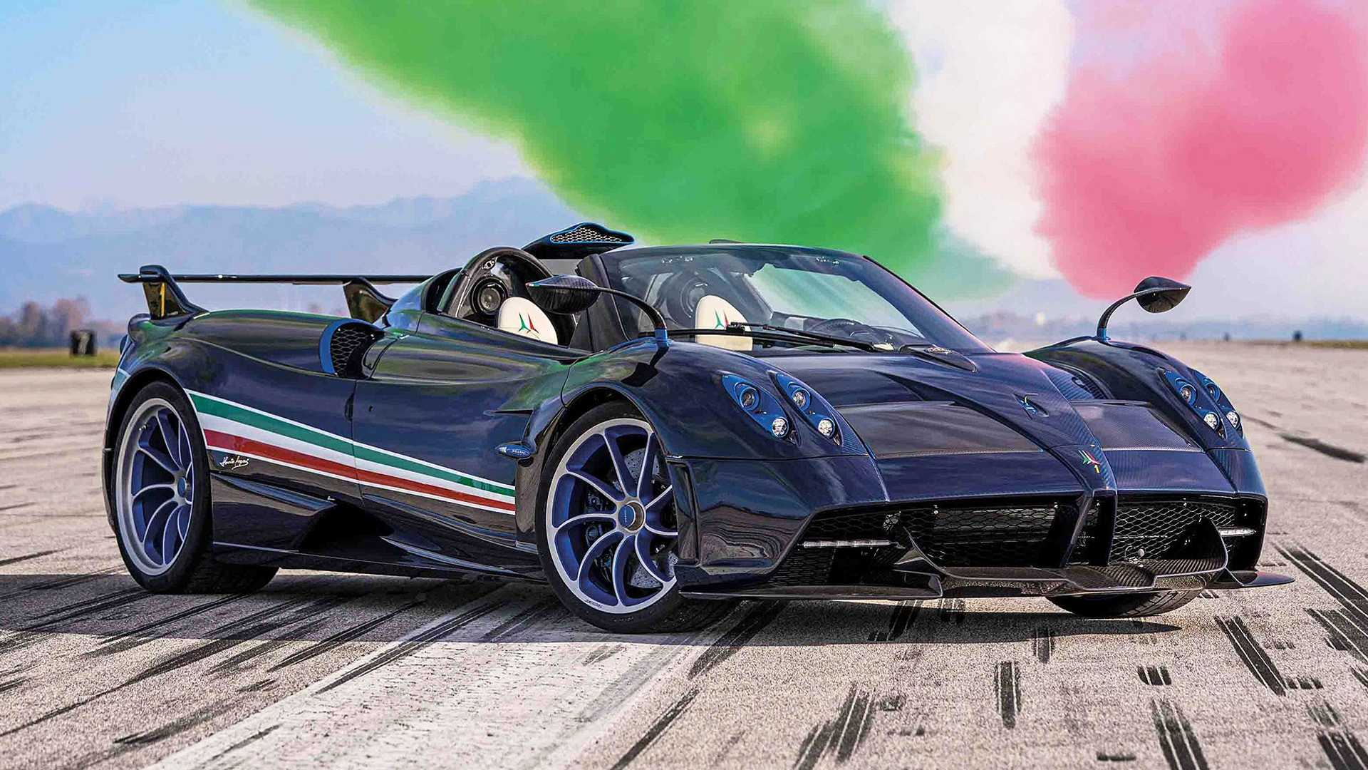 Pagani Huayra Tricolore Lands With 829 Horsepower And 6 7m Base Price