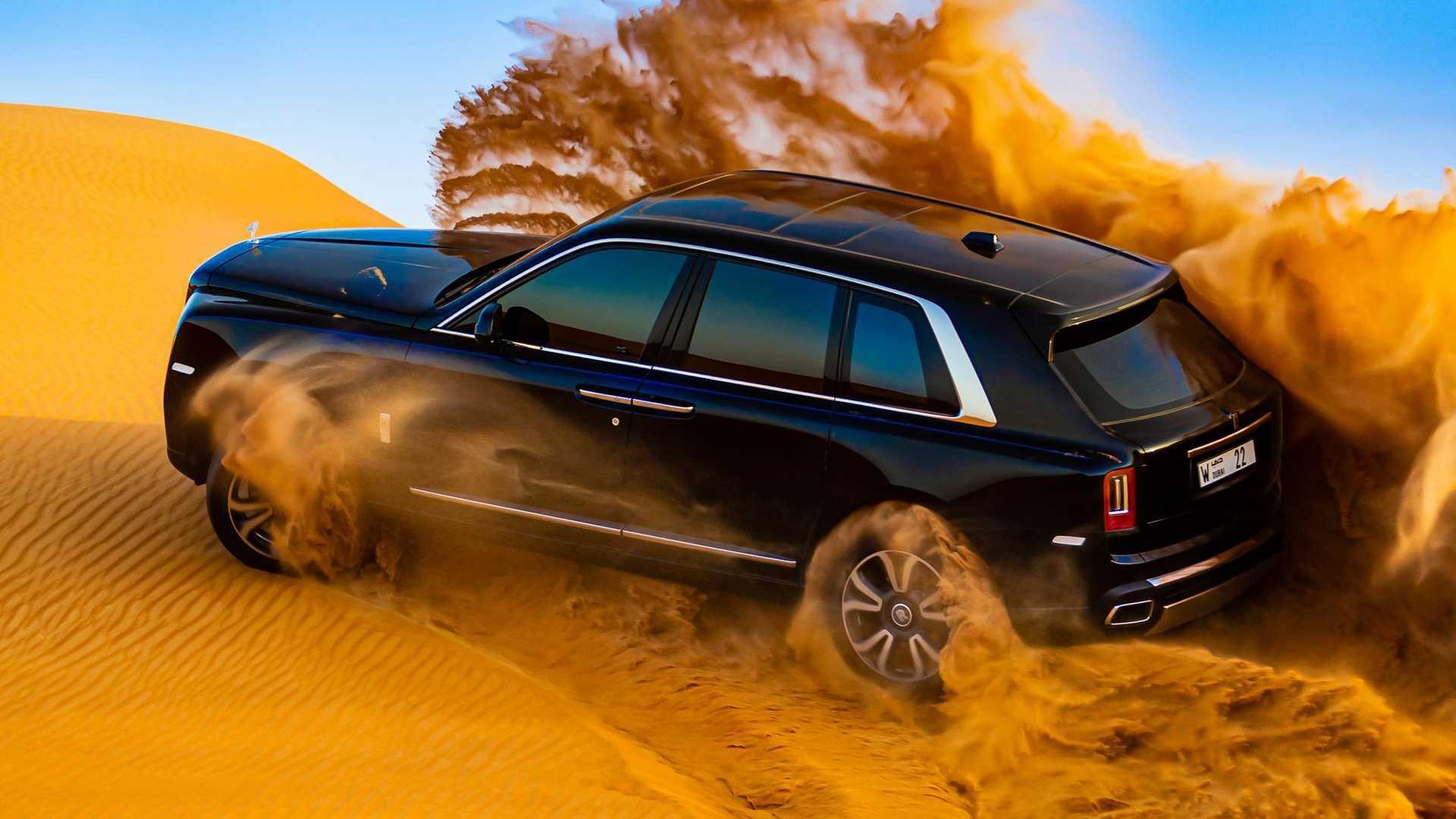 Rolls-Royce Cullinan Desert Video Redefines The Term 'Filthy Rich'