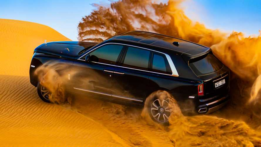 Rolls-Royce Cullinan Desert video redefines the term 'filthy rich'