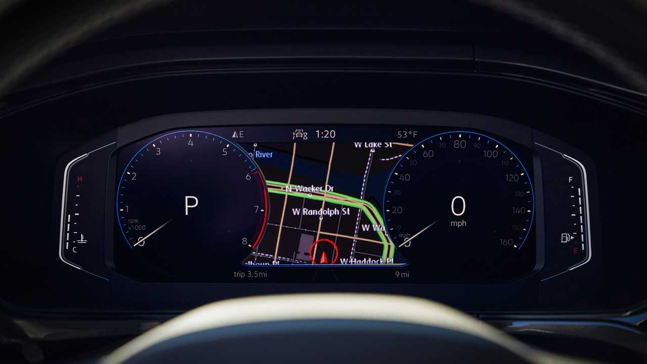 2022 Volkswagen Taos instrument panel