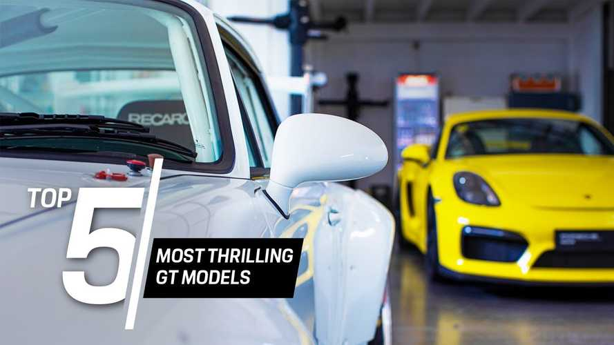 Porsche looks back at five of its most thrilling GT models