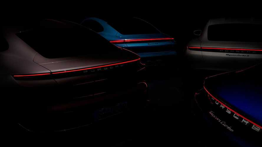Porsche Taycan new version teased, but which one?