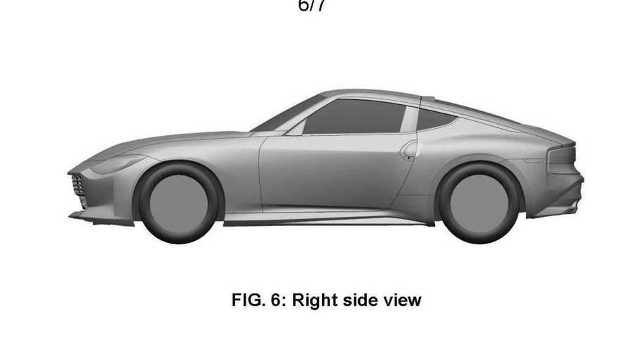 Nissan Z sports car possible production version patent images