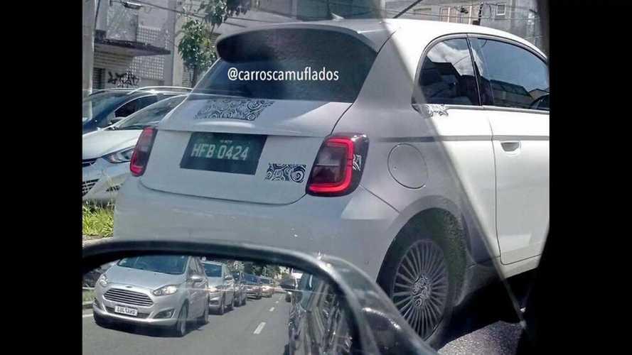 Confirmado para o Brasil, novo Fiat 500 elétrico é flagrado em Belo Horizonte