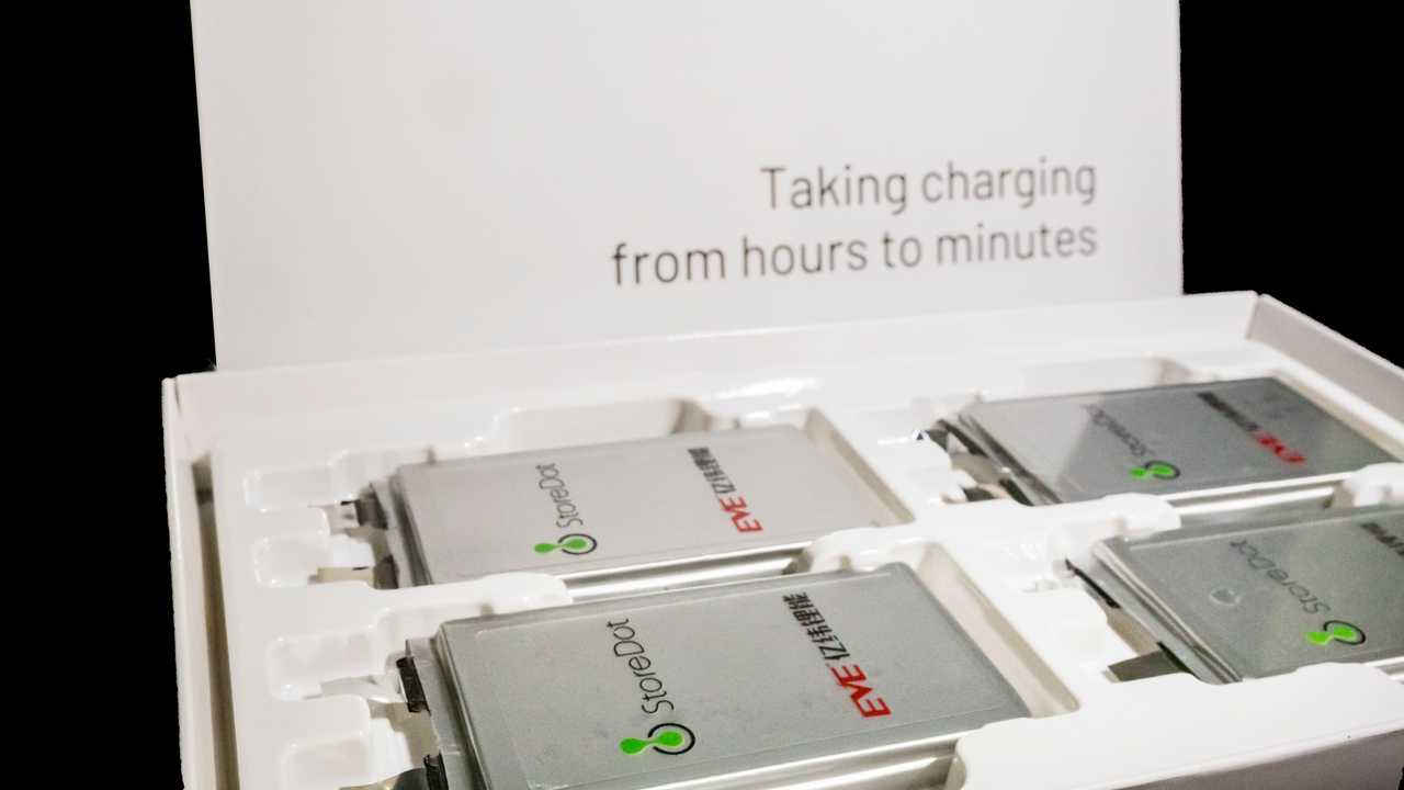 These Are StoreDot's Engineering Samples For Its 5-Minutes Fast-Charging Cell