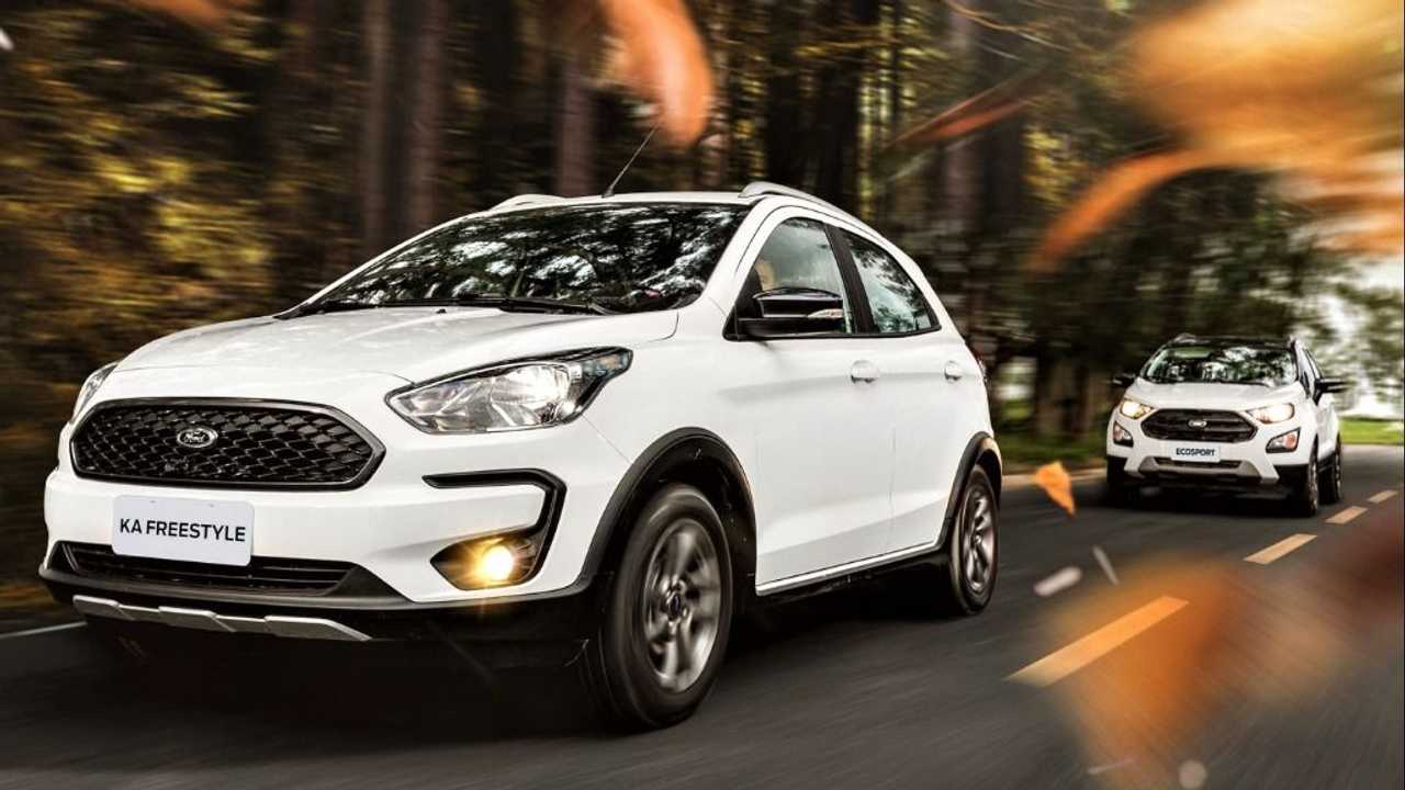 Ford Ka e EcoSport abre