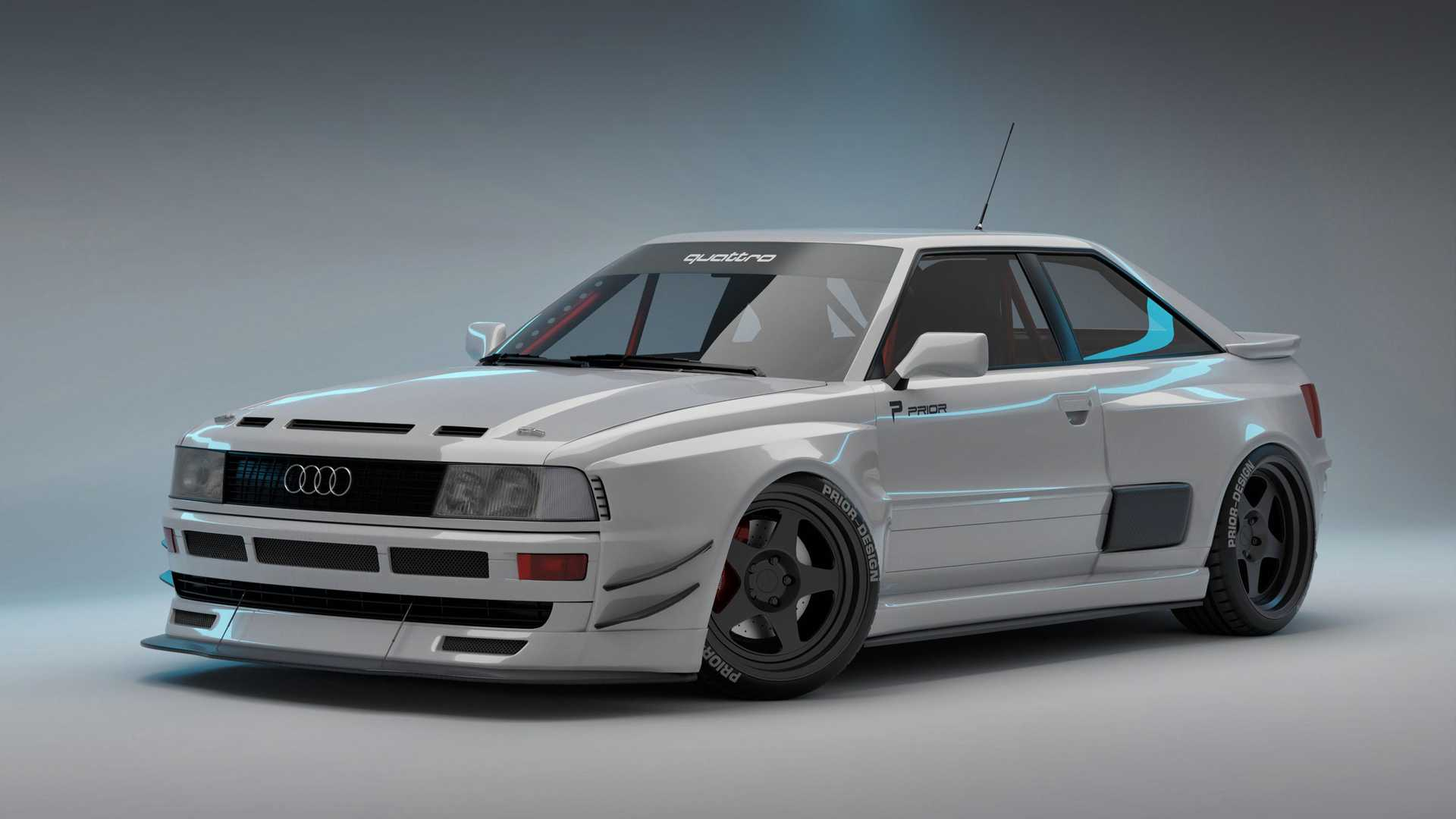 Prior Design Audi Coupé Widebody: Breitbau im RS-2-Stil