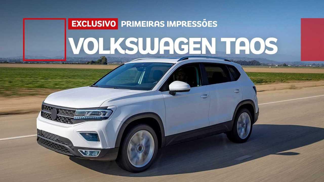 Volkswagen Taos 2022 - Imagem de destaque da avaliação