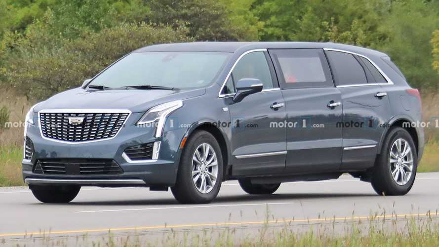 That Cadillac XT5 Limo Was Actually A Hearse In Disguise