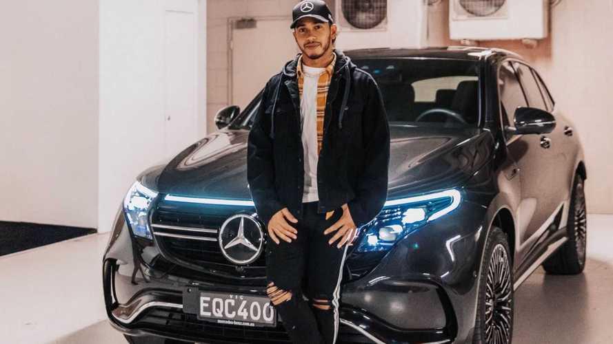 Lewis Hamilton admite que no dia a dia só dirige o elétrico Mercedes EQC