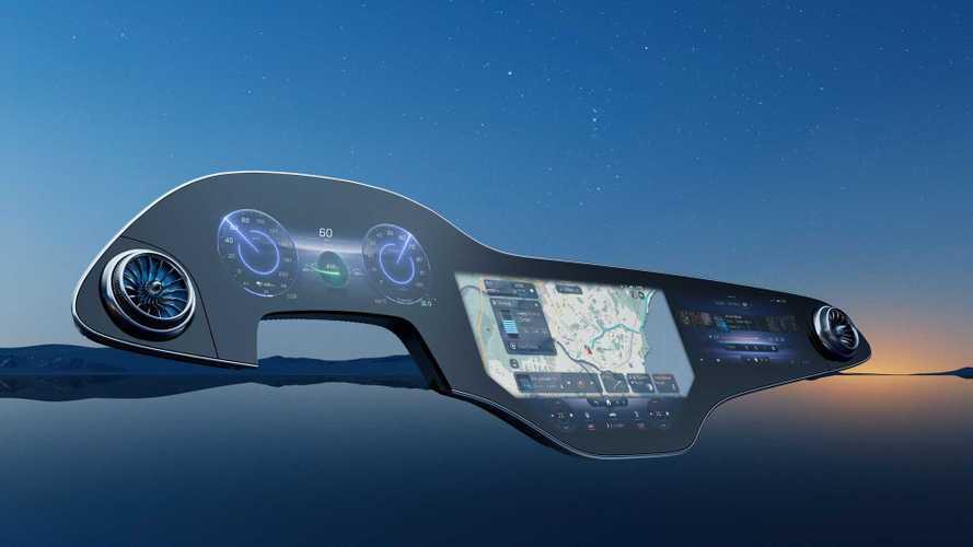 Mercedes rivoluziona il cruscotto con l'MBUX Hyperscreen della EQS