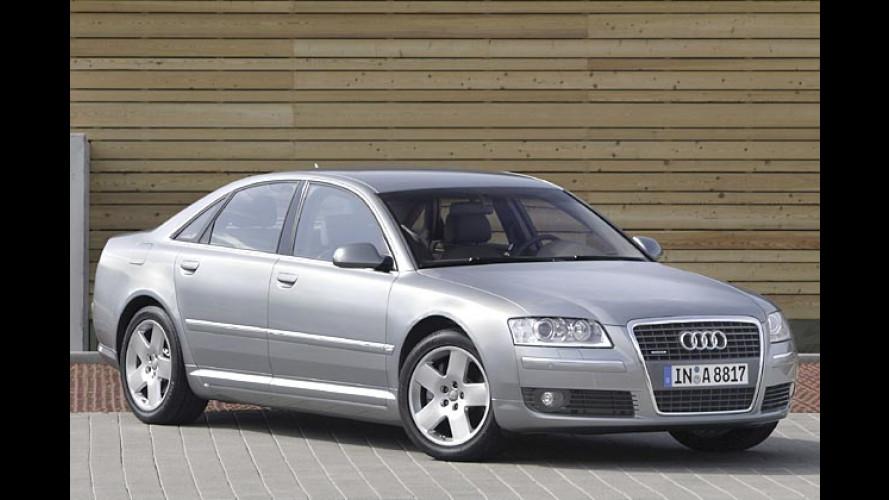 Audi A8 4.2 TDI quattro (2005): Ingolstädter bringen Diesel-Giganten