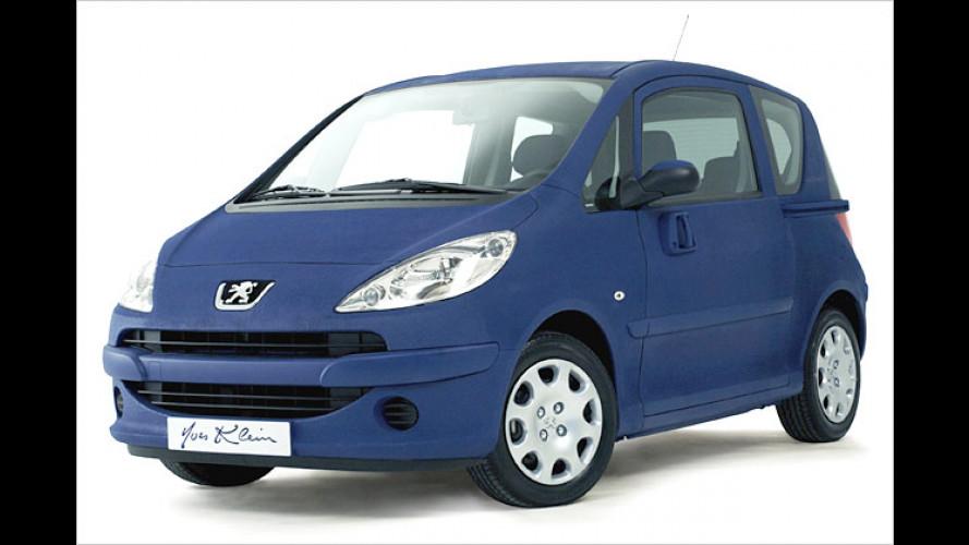 Peugeot 1007 Yves Klein: Unikat wird versteigert