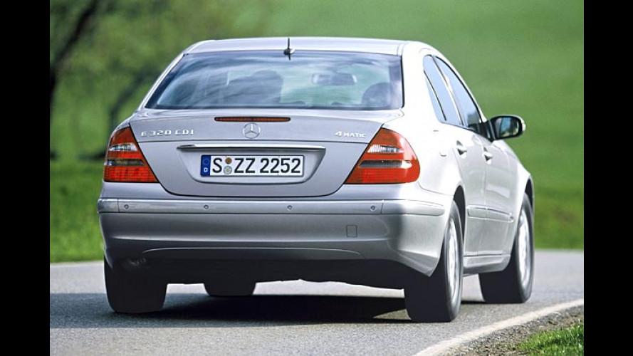 Mercedes E-Klasse: Allrad nun auch mit Diesel kombinierbar
