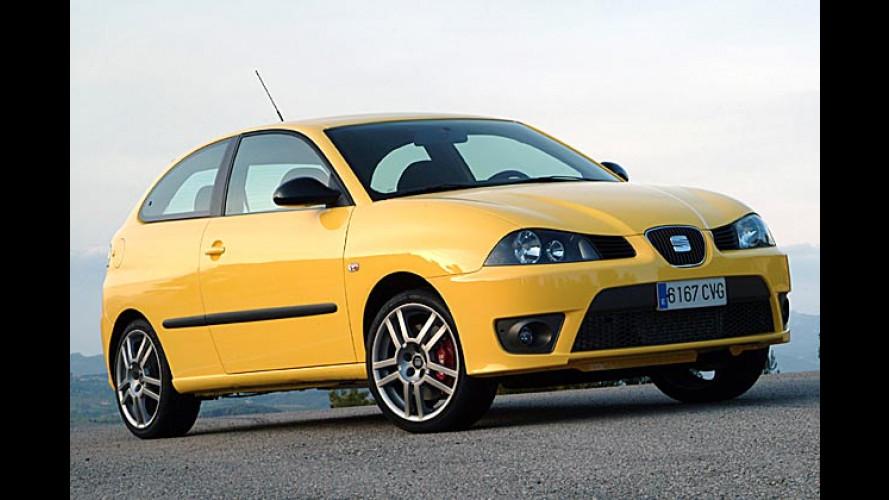 Seat Ibiza Cupra: Ein Name, zwei Modelle, viel Kraft