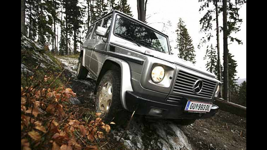 Mercedes-Benz G-Klasse: Der Klassiker wird 25 Jahre