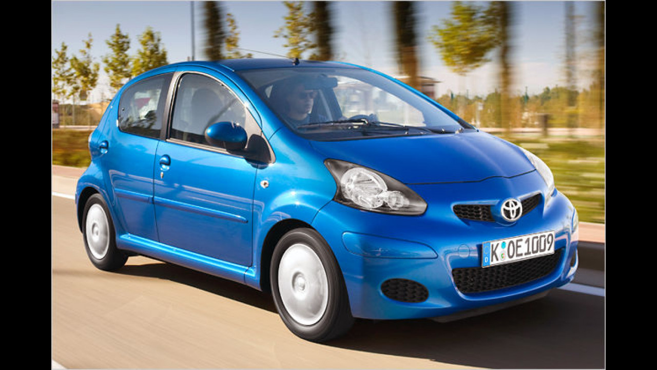 Facelift für Toyota Aygo