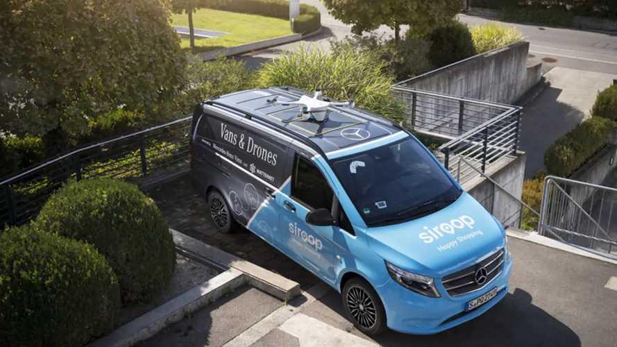 Van & droni a Zurigo