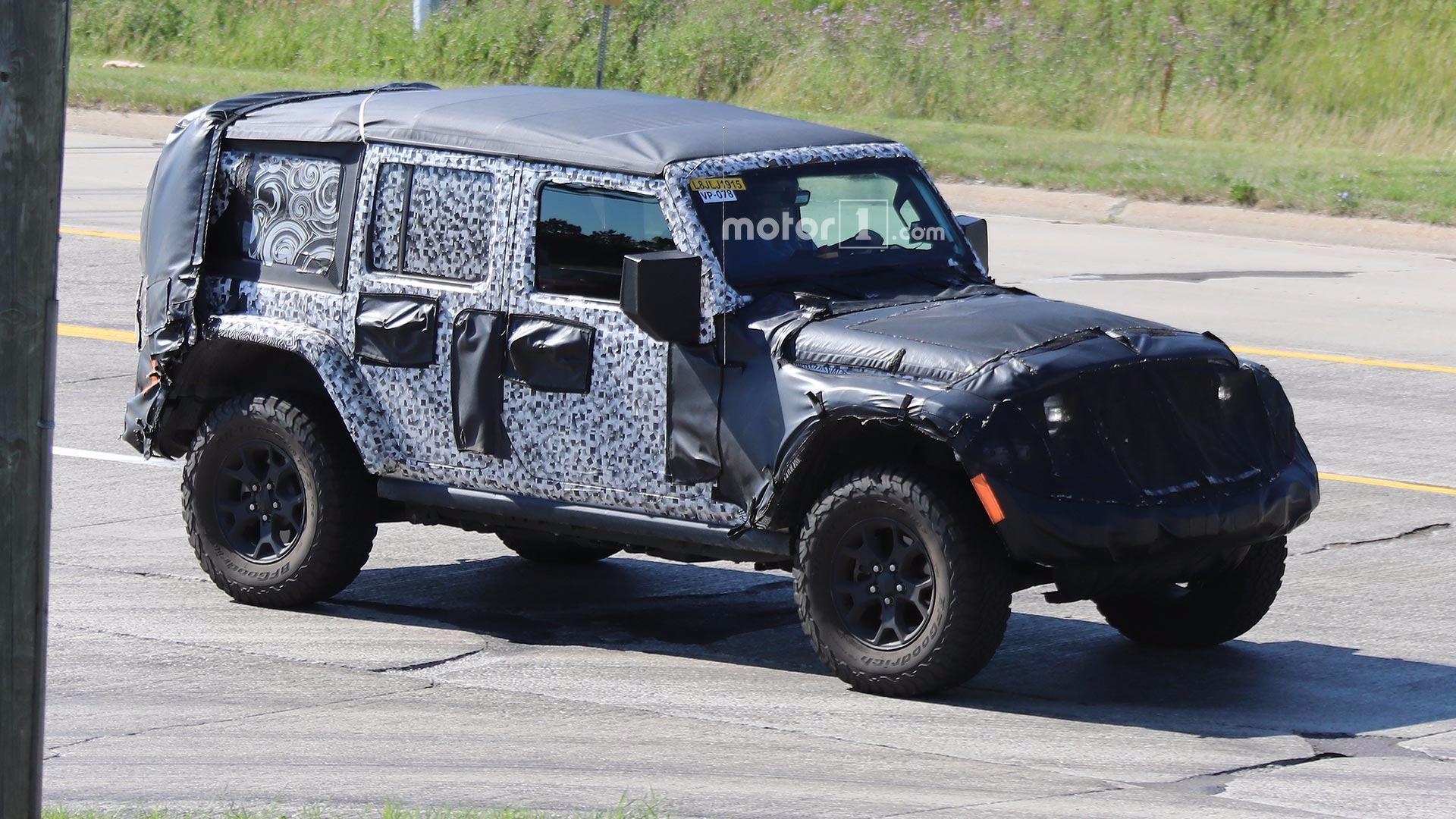2018 Jeep Wrangler Jl Info Leaks From Dealer Order System Leak Jk