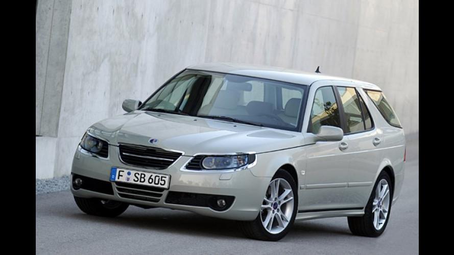 Biopower-Version jetzt auch vom Saab 9-5 mit 2,3-Liter-Turbo