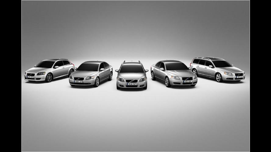 Ab 2008: Neue Bioethanol-Versionen von Volvo S80 und V70
