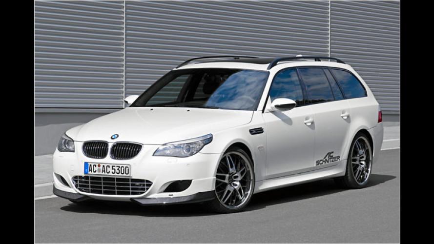 Stark, stärker, AC Schnitzer: BMW M5 Touring mit 552 PS