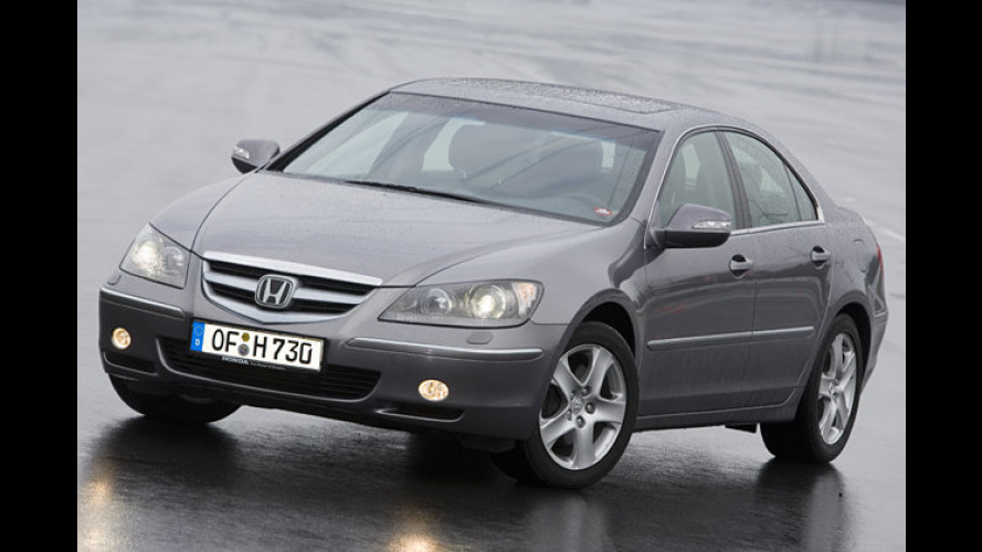Hightech-Understatement-Car: Honda Legend im Test