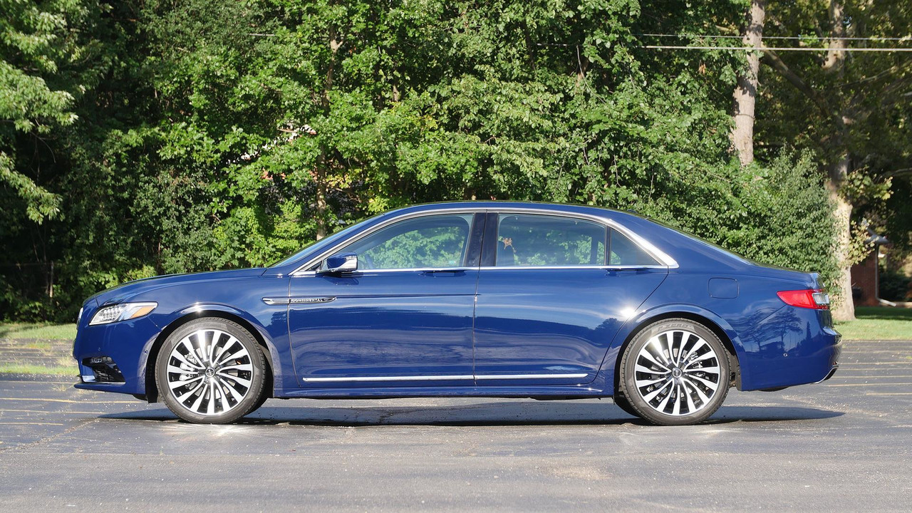 2017 Lincoln Continental Review Feels Like Real Luxury