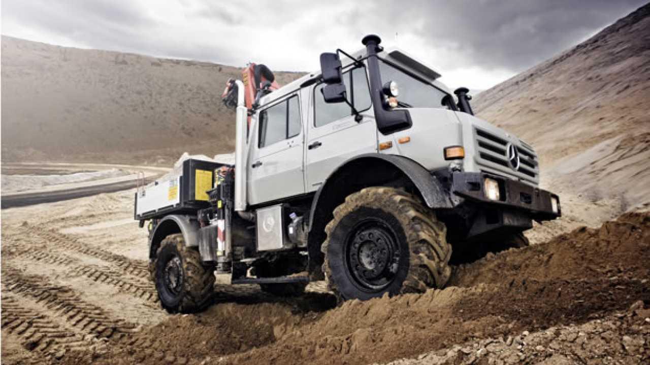 Mercedes Unimog, re dei fuoristrada
