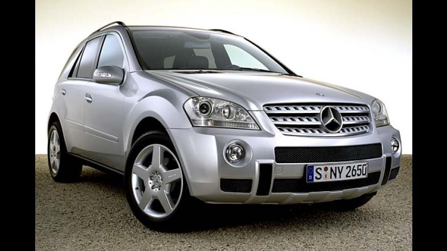 Mercedes: Neue M-Klasse schon ab Start im AMG-Design