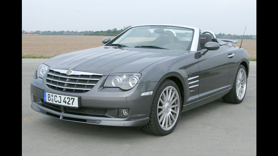 Chrysler Crossfire SRT-6 Roadster: Superrenner mit 335 PS