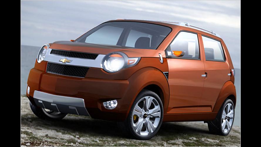 Chevrolet stellt Studie Trax und zwei weitere Prototypen vor
