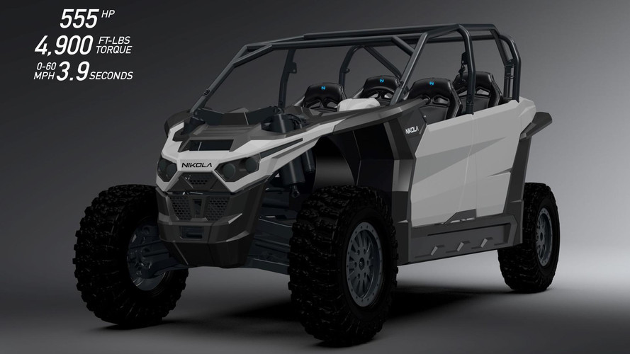 Nikola Preps World's Most Powerful Electric UTV