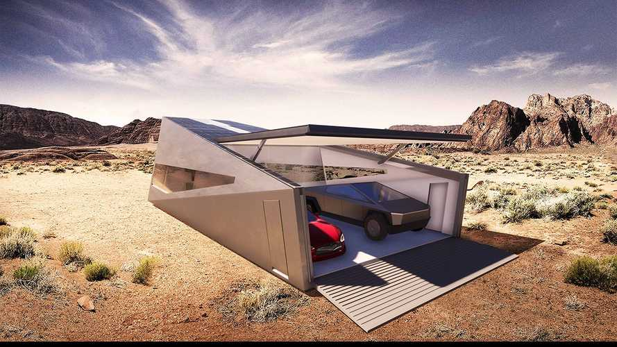 Cybunker Garage Will Go Well With Your Tesla Cybertruck