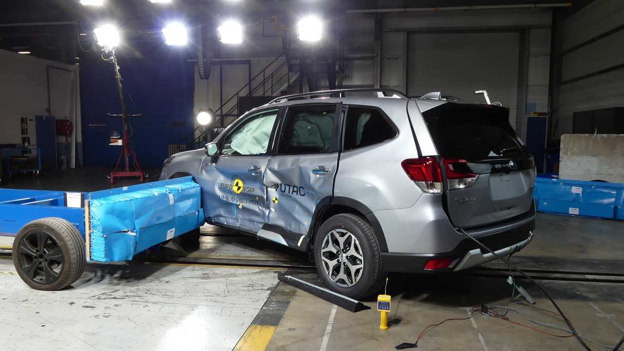 5 место - Subaru Forester