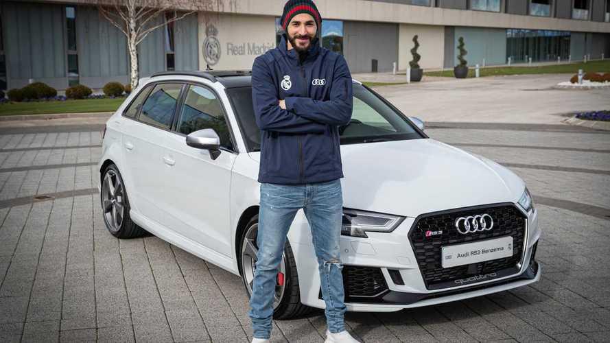 DIAPORAMA - Benzema, Varane, Zidane... Les nouvelles Audi du Real Madrid