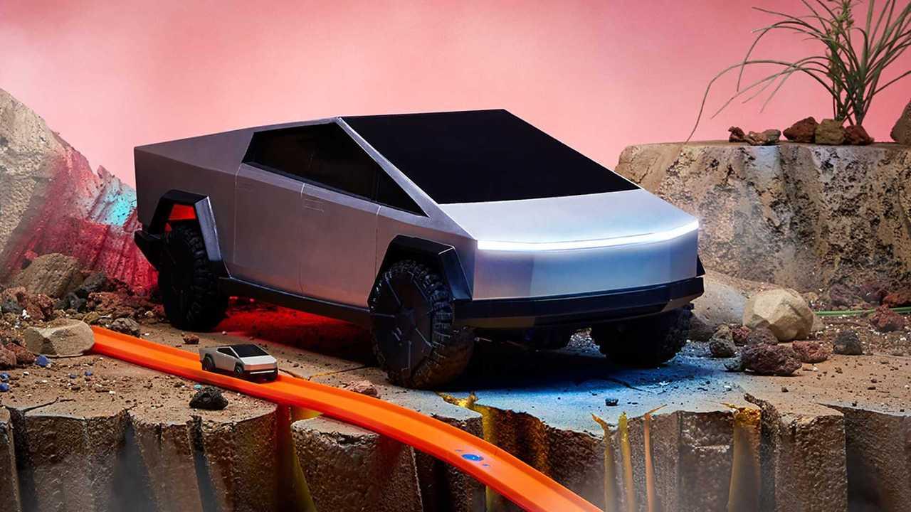 Tesla Cybertruck by Hot Wheels