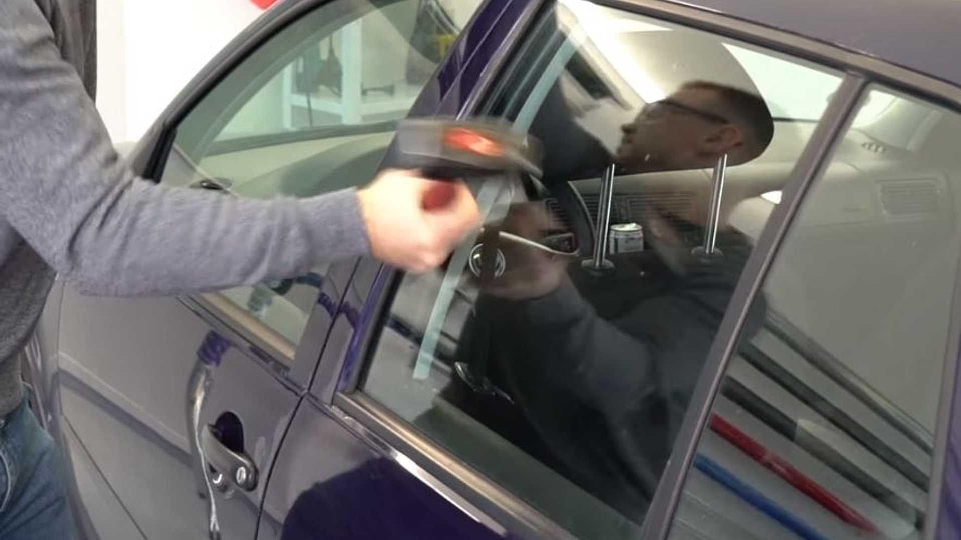 VW Golf Glass Tests