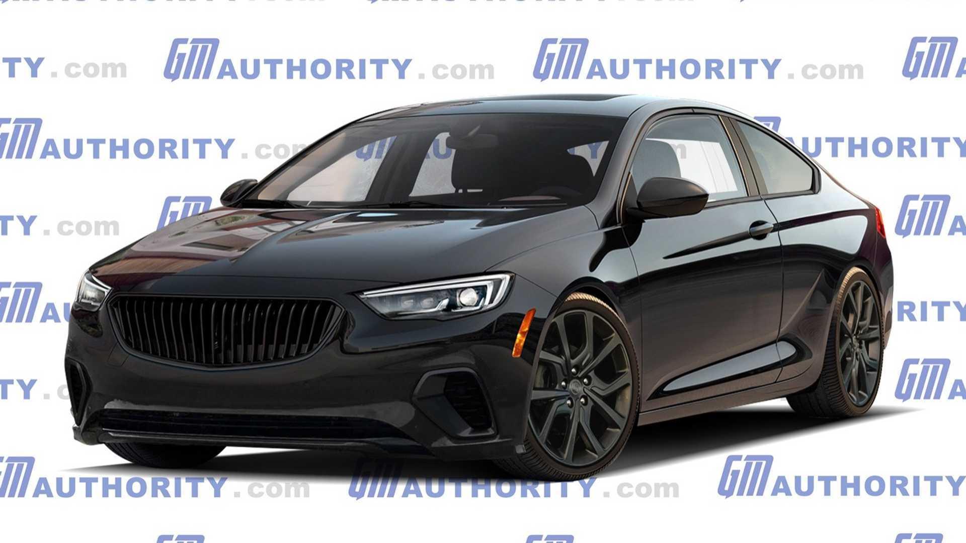 "[""Buick Regal GNX Rendered As A Modern Car""]"