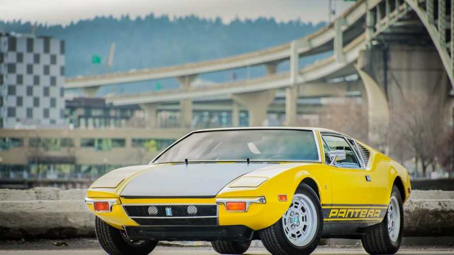 Place Your Bid On This Outstanding 1971 DeTomaso Pantera