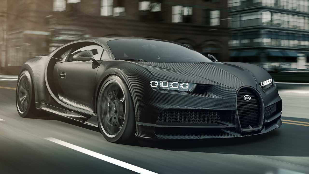 2020 Bugatti Chiron Noire
