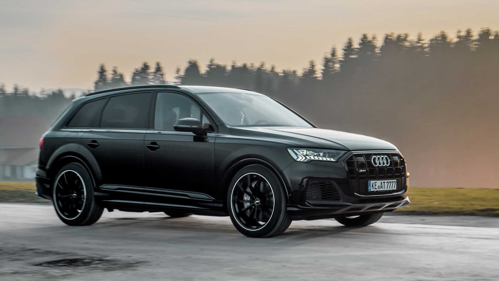 Audi Sq7 Gets More Power New Wheels From Abt