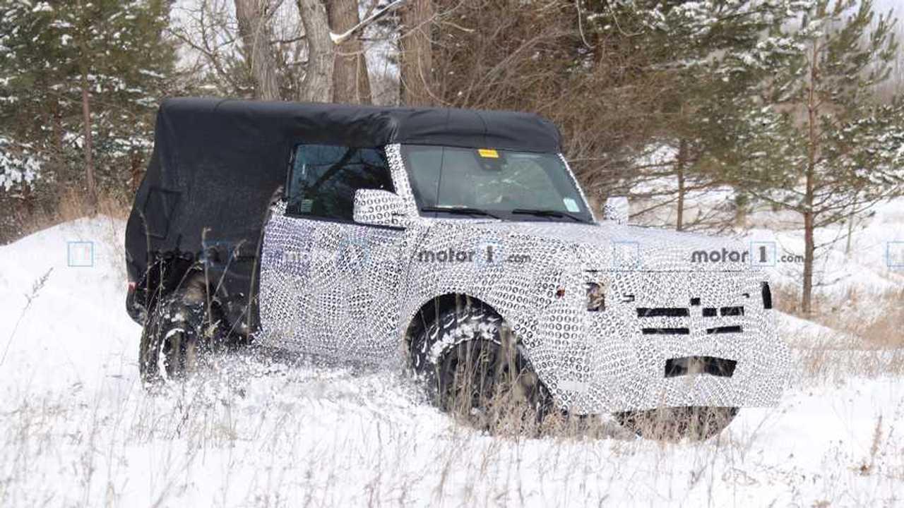 2021 Ford Bronco Two-Door Spy Shot