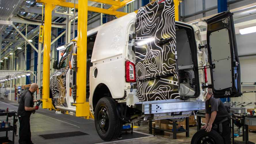 Just 15 vans were built in the UK last month amid coronavirus crisis