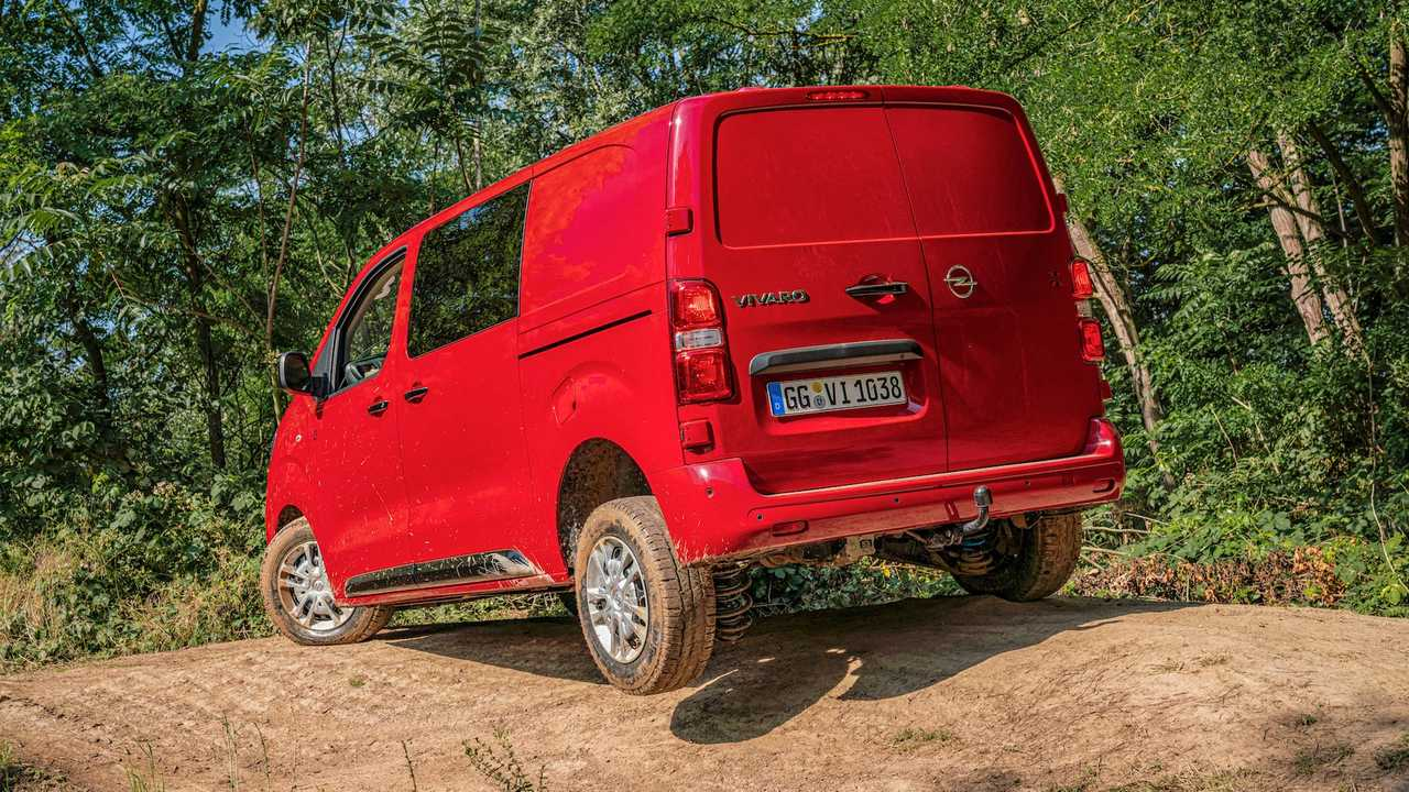 Opel Vivaro – Citroen Jumpy – Peugeot Expert 4x4