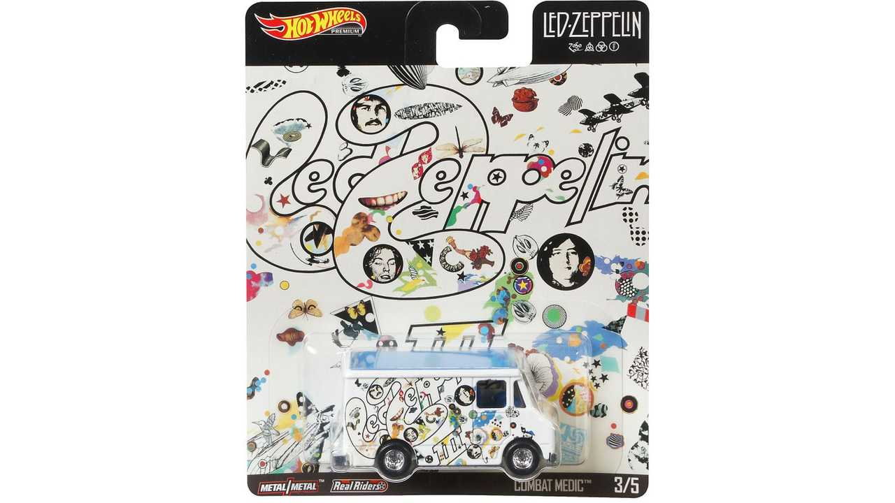 Led Zeppelin Introduces Hot Wheels Car Collection
