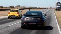 Suzuki Swift Sport Versus Mercedes-AMG GT63 S Race