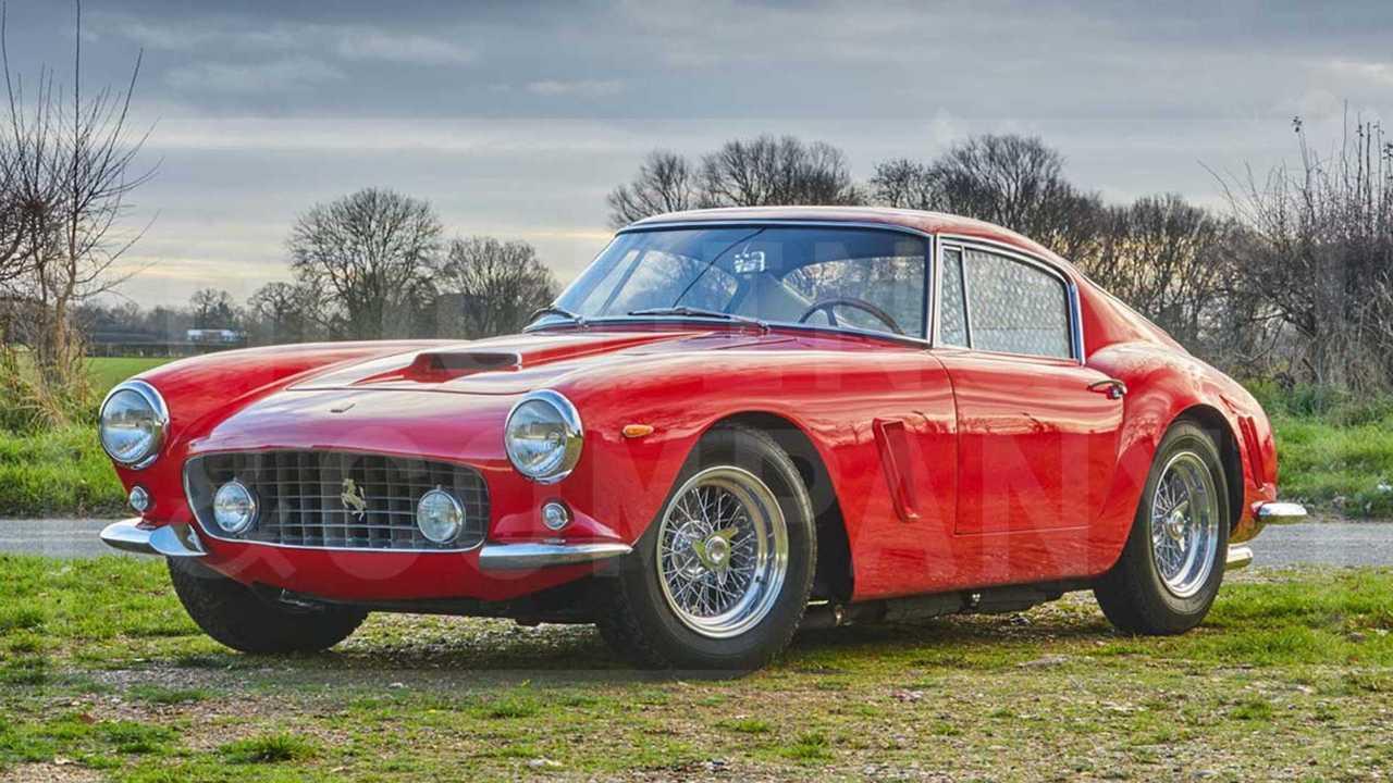 1963 Ferrari 250 GT SWB Berlinetta ($7,595,000)